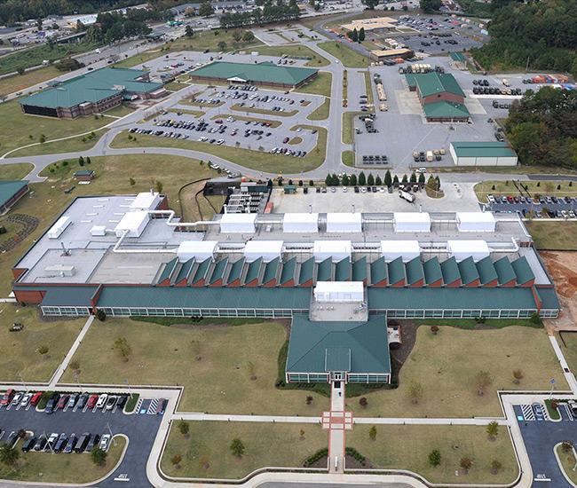 US Army Criminal investigation Laboratory, 3rd Expansion, Ft. Gillem, Forrest Park, GA
